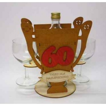 "KOMPLET ""Puchar wino 60-tka"""
