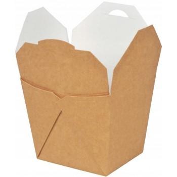 Food box brązowy 450 ml