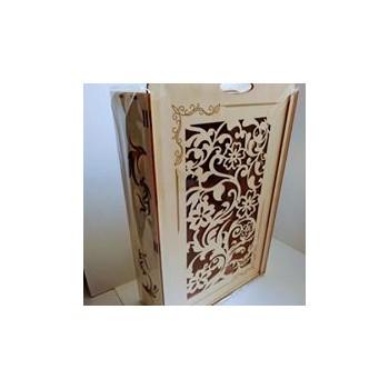 Drewniane pudełko na wino...